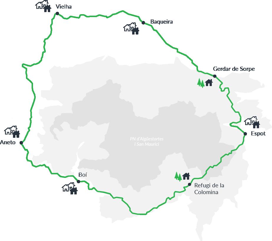 7 etapes Parc Nacional